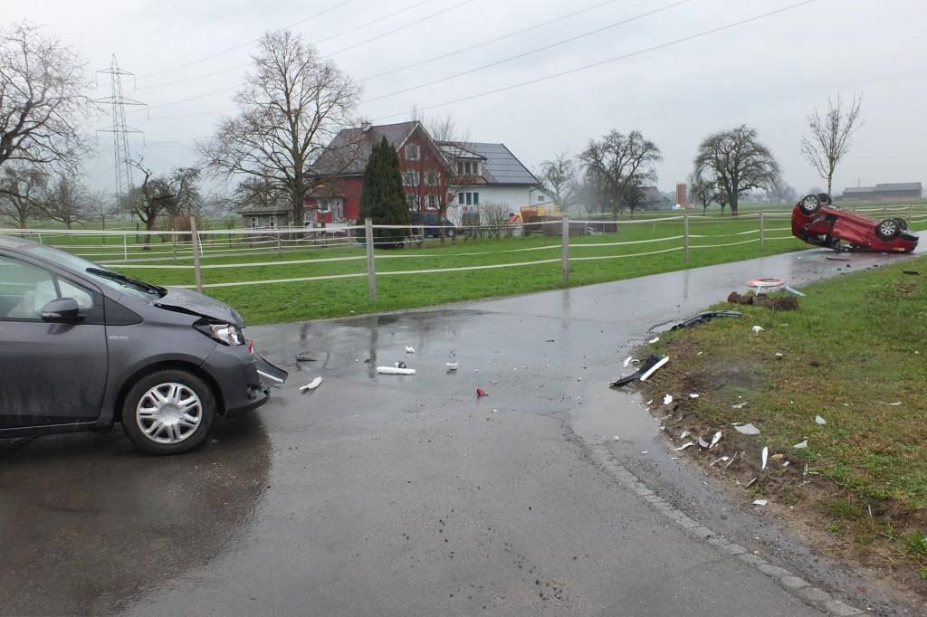 Unfall Altstätten (© Kapo SG)