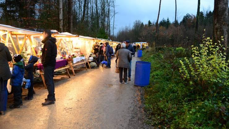 Weihnachtsmarkt Birrhard (Archivbild)