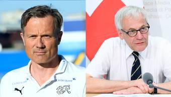 «Es wäre fast unmenschlich, wenn man seiner früheren Heimat einen Korb geben müsste.» Kurt Fluri (rechts) kritisiert Alex Miescher.