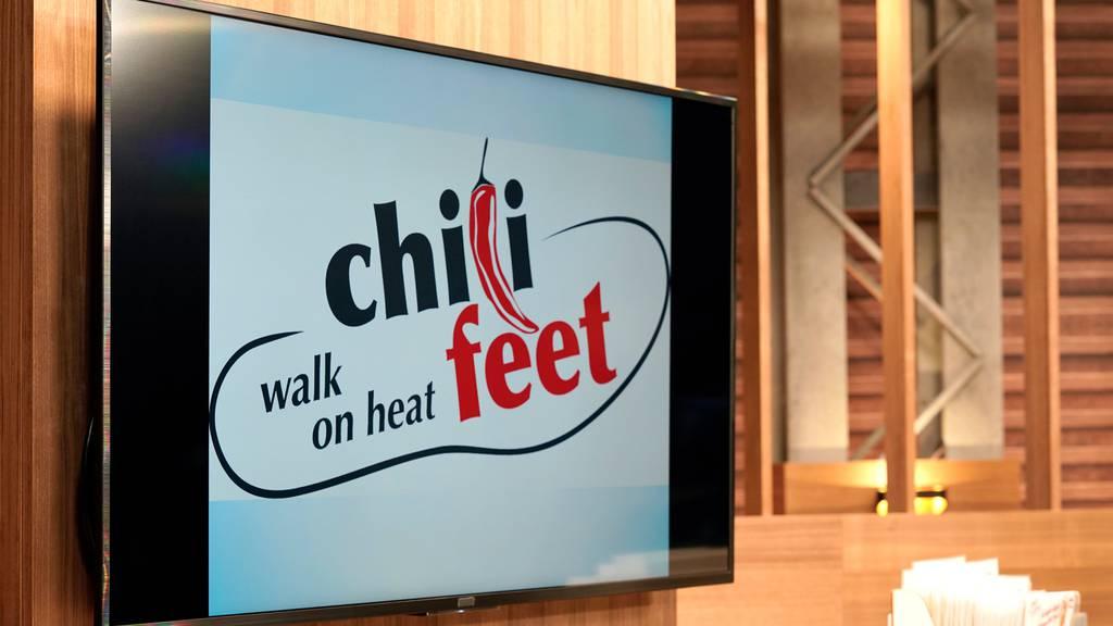 Das Startup «chili-feet» hat ein MediaShop-Gründerticket erhalten!