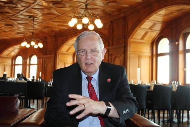 FDP-Nationalrat und Gewerbedirektor Hans Rudolf Gysin. (Foto: Archiv)