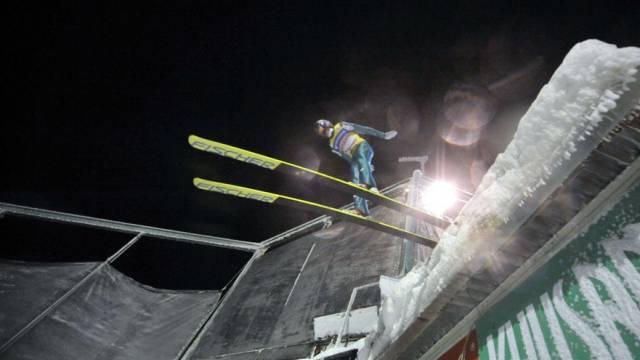 Weiterer Versuch der Skispringerinnen