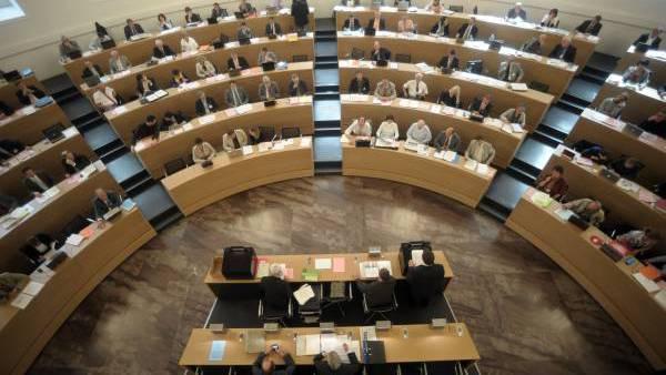 Das Ratsgebäude ist noch keine Turnhalle, sportlich wird der Grosse Rat trotzdem