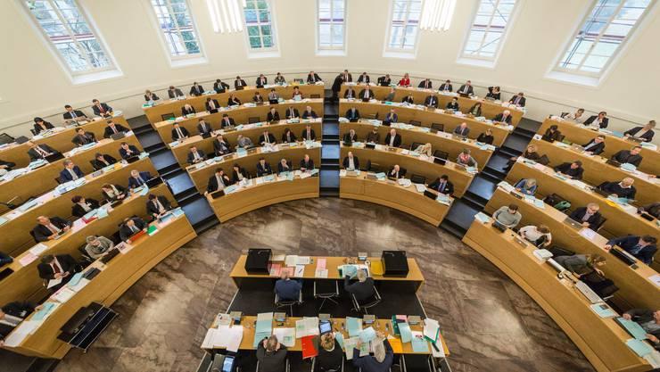 Der Grossratssaal Viele wichtige Entscheide fallen nicht erst hier, sondern werden in den Kommissionszimmern vorgespurt.