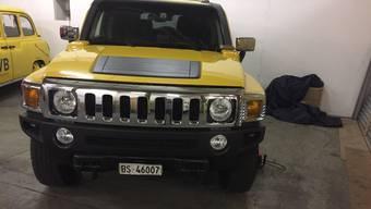 Der gelbe IVB-Hummer. (zvg)