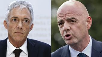 Wegen seinen Treffen mit FIFA-Chef Gianni Infantino droht dem abtretenden Bundesanwalt Michael Lauber nun ein Strafverfahren.