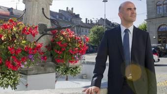 Alain Berset wurde von der Kantonalpartei einstimmig als Bundesratskandidat nominiert (Archiv)