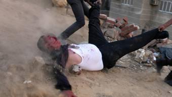 Ein Opfer blutiger Strassenkämpfe in Kairo (Archiv)