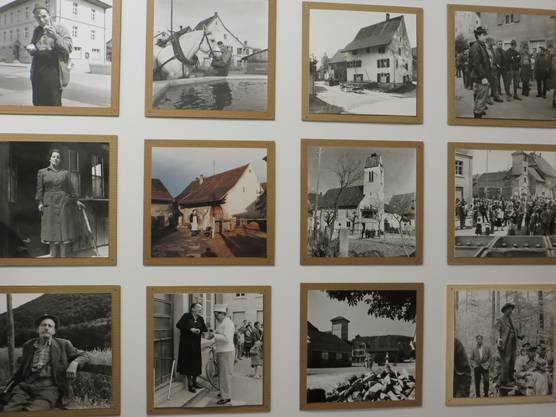 Bilder vom Fotograf Gert Martin aus alten Tagen von Frenkendorf.