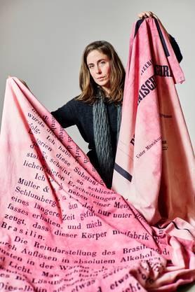 Denise Bertschi hat den Aargauer Manor Kunstpreis 2020 erhalten.