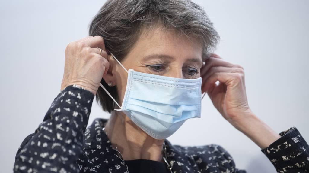 Masken, Sperrstunde, keine Grossevents: So will der Bundesrat die zweite Welle stoppen