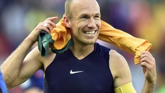 Robben will mit Holland Höhenflug fortsetzen.