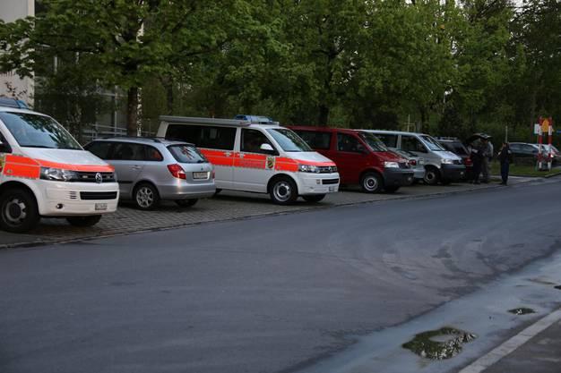 Die Polizei räumt das Protestcamp der Fahrenden auf der Berner Allmend