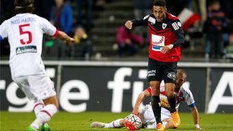 Auch FCA-Stürmer Marvin Spielmann läuft es derzeit nicht optimal. freshfocus