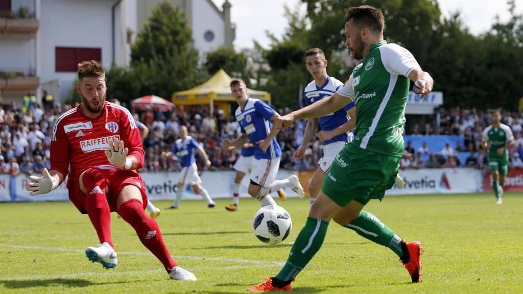 6:0-Schaulaufen gegen den FC Ueberstorf