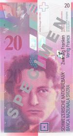 1996 schmückte Komponist Arthur Honegger (1892 – 1955) die neue, pinke Note.