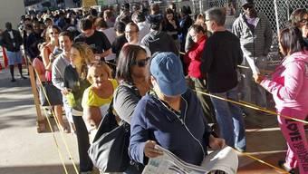 Die Mehrheit in Florida wählte Barack Obama (Archiv)