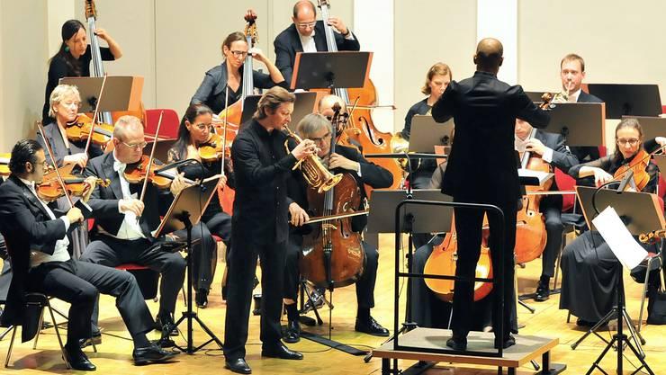 Sergei Nakariakov und die Münchner Symphonikern gastierten im Konzertsaal.