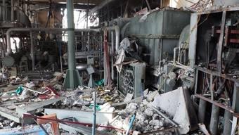 Blick in den zerstörten Reaktor 4 des AKW Fukushima (Archiv)