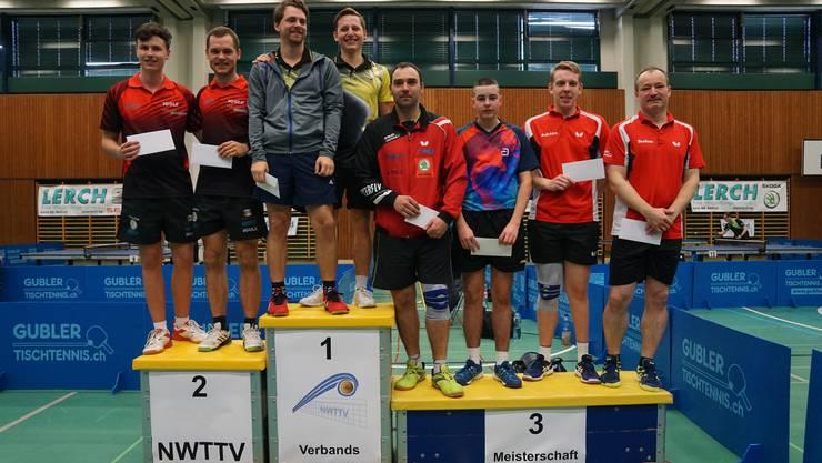 NWTTV-Meisterschaften 2019 / Doppel bis 18 Punkte / 1. Rang Robin Mühlebach+Roman Kleiner