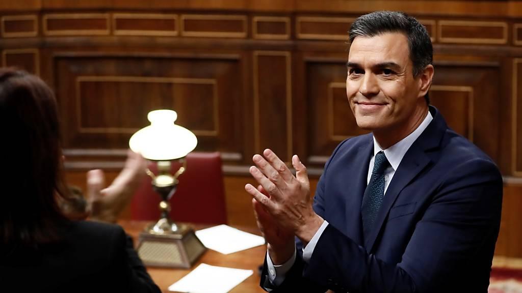 Pedro Sánchez scheitert bei erster Abstimmung über seine Wahl