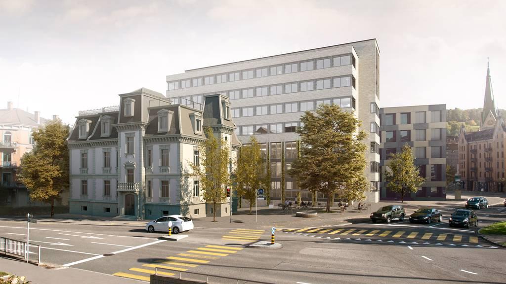 Neue Idee: Hinter Villa Wiesental soll Hotelkomplex entstehen