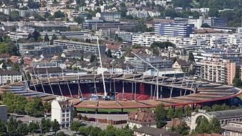 Der Stadtrat will über die Mietzinse fürs Letzigrund Stadion diskutieren