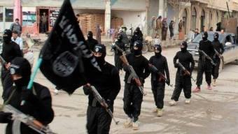 Mitglieder der Dschihadistengruppierung IS in Syrien (Archiv)