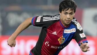 Auch Basels Verteidiger-Talent Blas Riveros (18) durfte nicht im Nachwuchs Spielpraxis sammeln.
