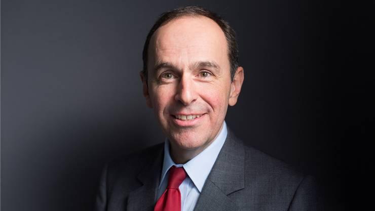 «Ich sehe für den Journalismus eine grosse Zukunft», sagt der neue Verlegerpräsident Pietro Supino.GAETAN BALLY/Keystone