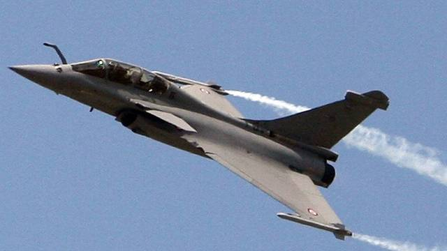 Der französische Konzern Dassault zieht mit dem Kampfjet Rafale ein Riesengeschäft an Land (Archiv)