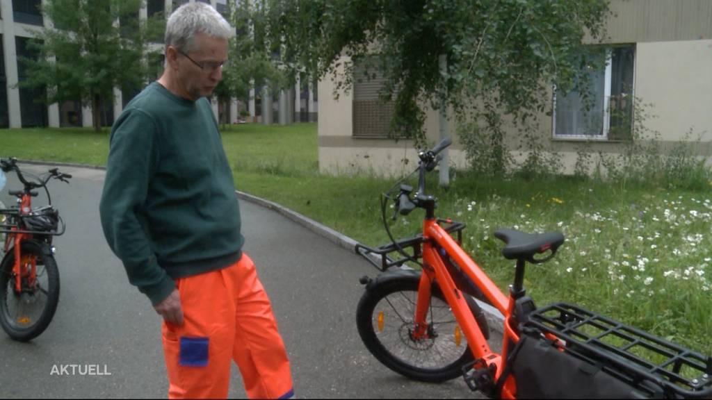 Lenzburg AG setzt auf E-Bikes