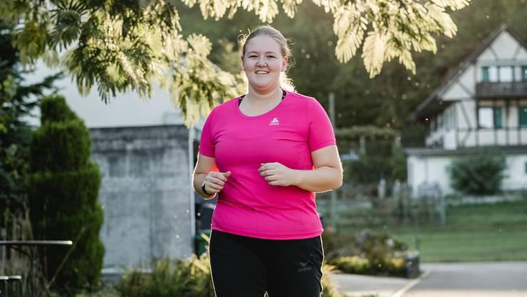 Mit eisernem Training macht Michelle Melliger sich fit für den Hallwilerseelauf am Samstag.