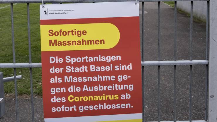 Wie alle Sportanlagen in der Region bleibt auch der Rankhof bis auf weiteres geschlossen.