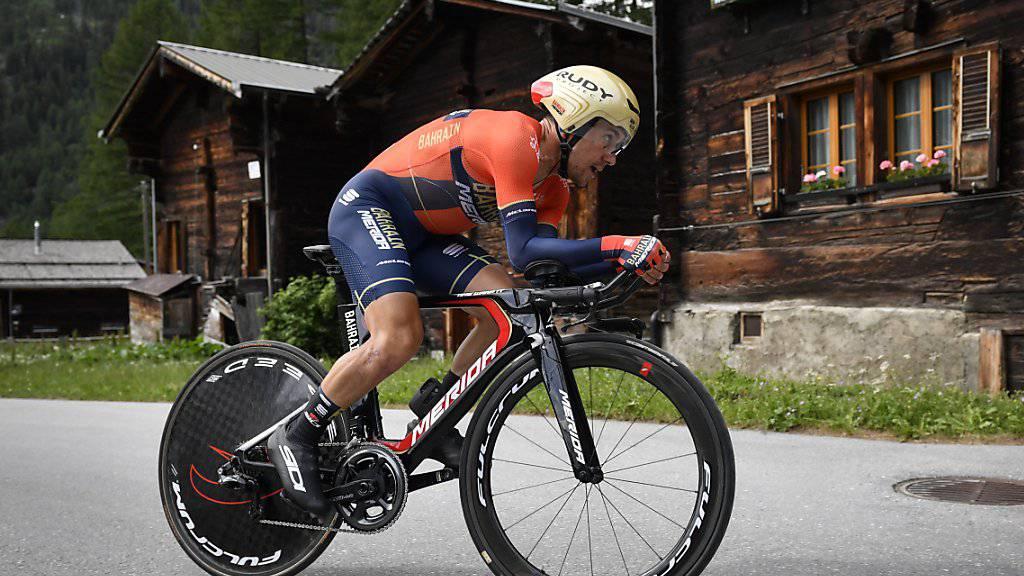 Domenico Pozzovivo war im Juni an der Tour de Suisse unterwegs