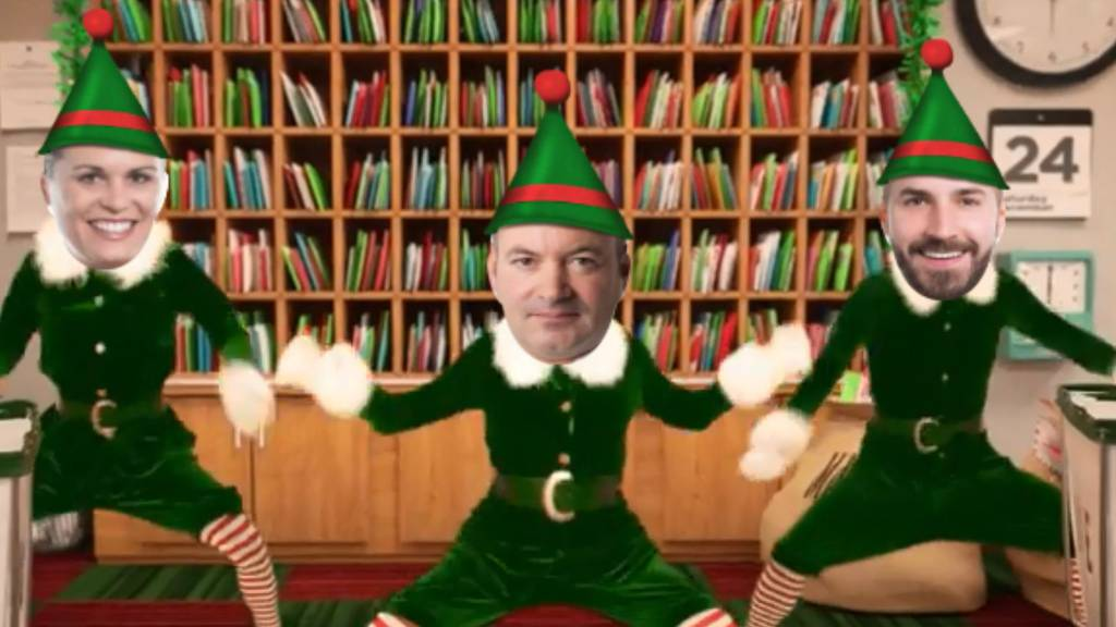 Unsere Weihnachtselfen sind wieder da