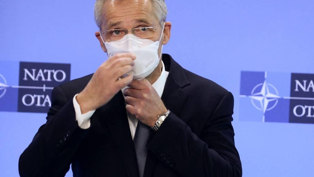 Stoltenberg verspricht bei Klimagipfel ökologischere Nato