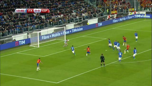 European Qualifiers for 2018 FIFA World Cup: Italien vs. Spanien