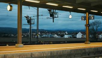 Beim Bahnhof Möhlin befindet sich das Entwicklungsgebiet Rheinfelden Ost.
