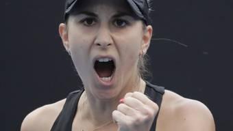 Gelitten, gekämpft und gewonnen: Belinda Bencic steht am Australian Open in der 3. Runde