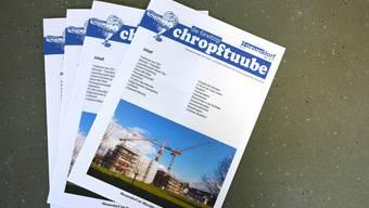 Die frühere Ausgabe Chropftuube wird der Dorfzytig weichen.