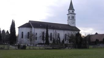 Die katholische Kirche liegt im Dorfkern von Kriegstetten und ist damit von der Planungszone betroffen.