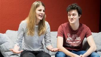 Wollen «neuen motivierten Kräften Platz machen»: Ronja Jansen und Nils Jocher treten als Präsidenten ab.