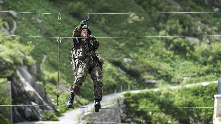 Mit dem neuen Sportkonzept der Schweizer Armee steigt auch die militärische Leistungsfähigkeit.