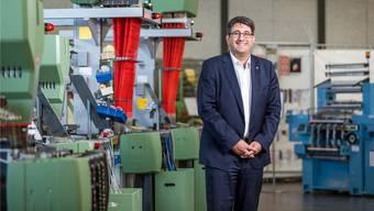 Robert Reimann, CEO der Jakob Müller AG aus Frick, erwartet für das Jahr 2018 den gewünschten Gewinn.