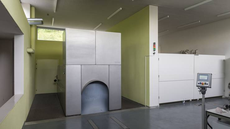 Das Krematorium Liebenfels in Baden: Die Recycling-Einnahmen haben sich im vergangenen Jahr verzehnfacht.