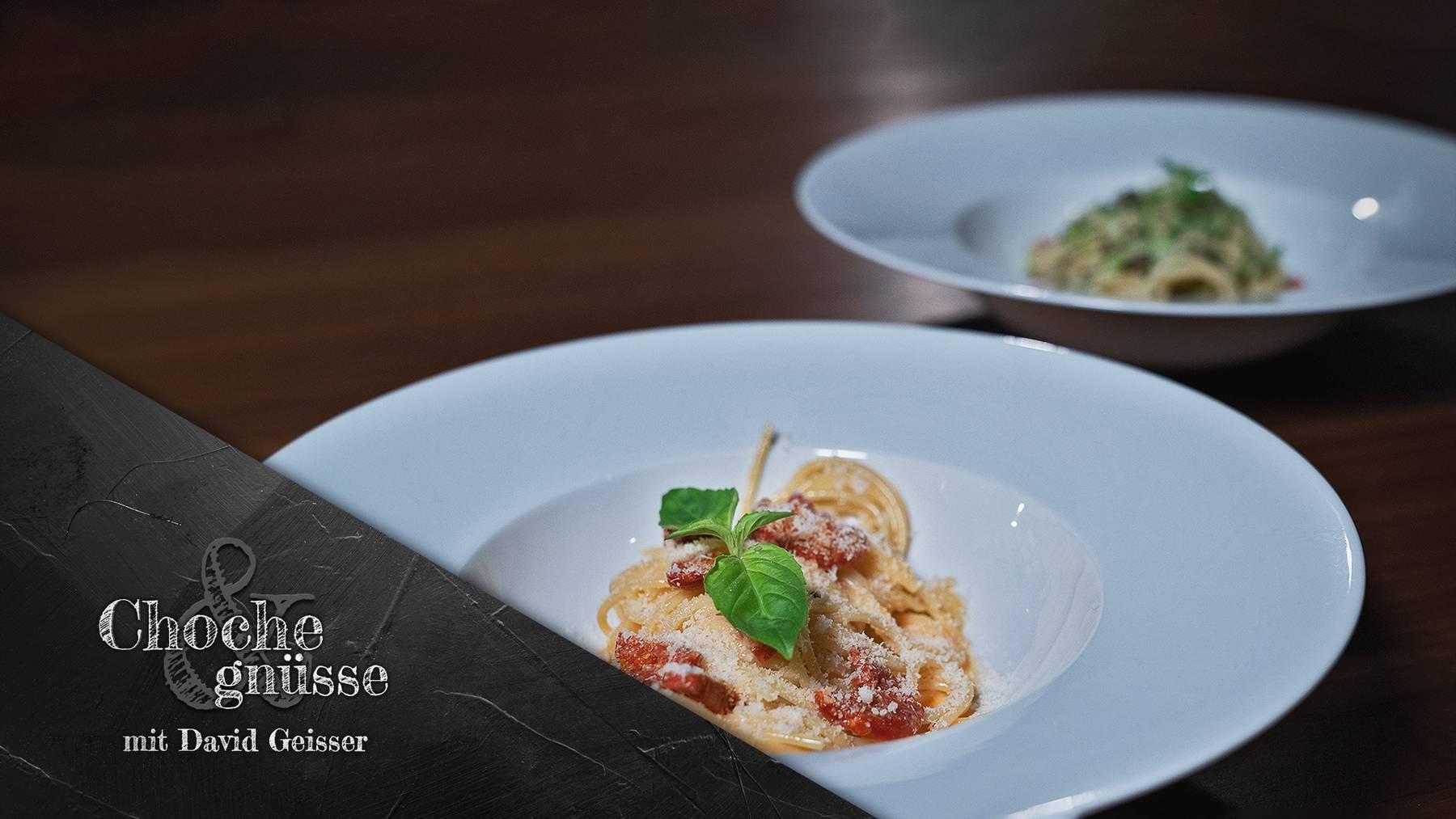 Choche & gnüsse mit David Geisser, Spaghetti-Plausch