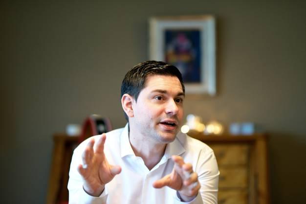 Benjamin Giezendanner, SVP, 2017: 133 Stimmen