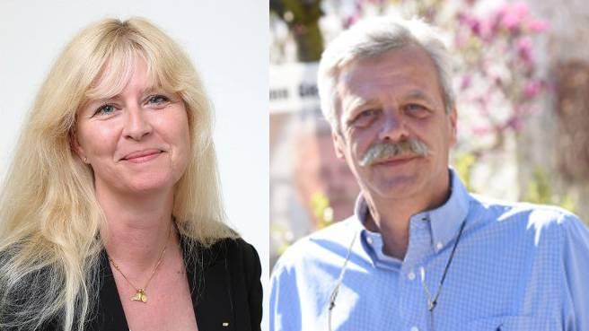 Stehen im Fokus: Allschwiler Gemeinderat Roman Klauser und seine Tochter Pascale Uccella.