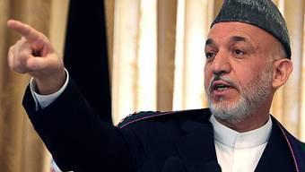 Amtsinhaber Hamid Karsai ist neuer Präsident Afghanistans (Archiv)